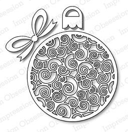 Impression Obsession Fancy Ornament Die Set