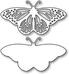 Impression Obsession Fancy Butterfly Die Set