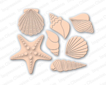 Shell - Impression Obsession Craft Die