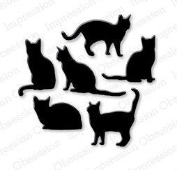Cat Impression Obsession Craft Die Die083 K 123stitch Com