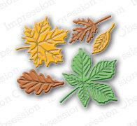 Small Leaf - Impression Obsession Craft Die