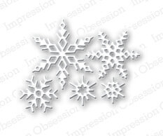 Small Snowflake - Impression Obsession Craft Die