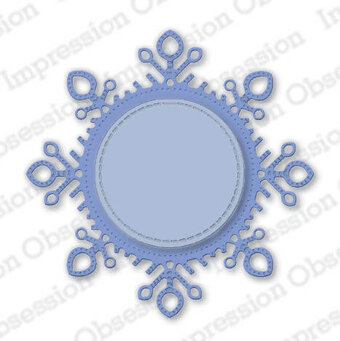 Snowflake Frame - Winter Craft Die