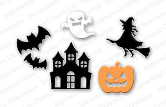 Impression Obsession Halloween Die Set
