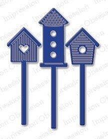 Impression Obsession Birdhouse Die Set