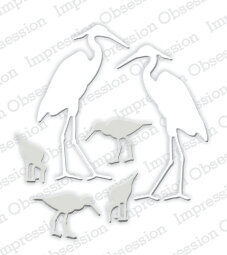 Shore Birds - Impression Obsession Craft Die