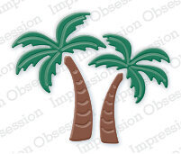 Palm Trees - Impression Obsession Craft Die
