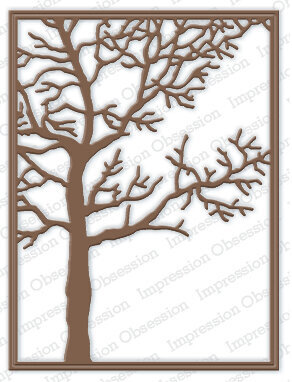 Tree Frame - Impression Obsession Craft Die