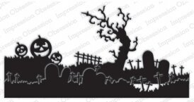 Halloween Landscape Layers - Impression Obsession Craft Die