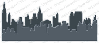 City Landscape Layers - Impression Obsession Craft Die