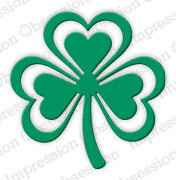 Impression Obsession Fancy Shamrock Die