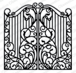 Wrought Iron Fence Craft