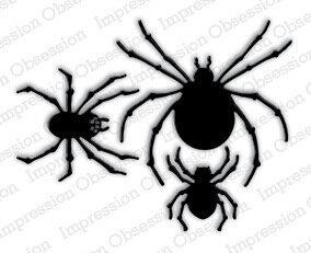 Halloween Spiders and Spiderwebs - 123Stitch.com