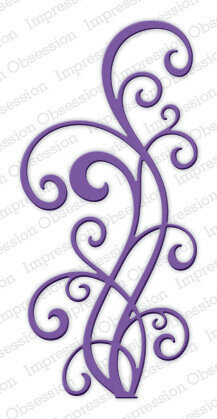 Large Ornate Flourish Craft Die