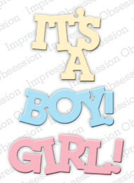 Impression Obsession Baby Girl and Boy Die