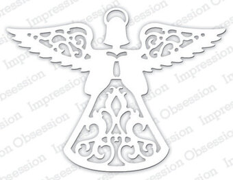 Angel - Impression Obsession Craft Die