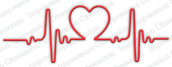 Impression Obsession Heart Beat Die