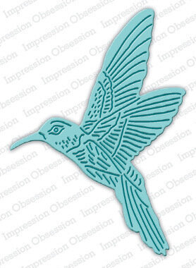 Hummingbird - Impression Obsession Craft Die
