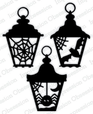 Halloween Lanterns - Impression Obsession Craft Die