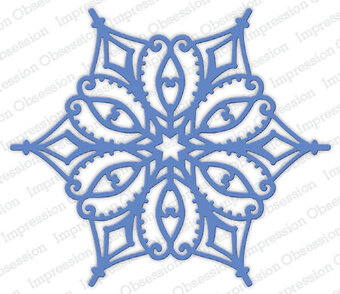 Snowflake 7 - Impression Obsession Craft Die