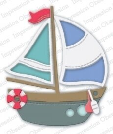 Sailboat - Impression Obsession Craft Die