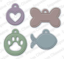 Pet Tags - Craft Die