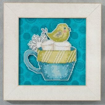 Marshmallow Sweet (Debbie Mumm) - Beaded Cross Stitch Kit