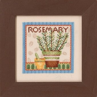 Rosemary - Debbie Mumm - Beaded Cross Stitch Kit