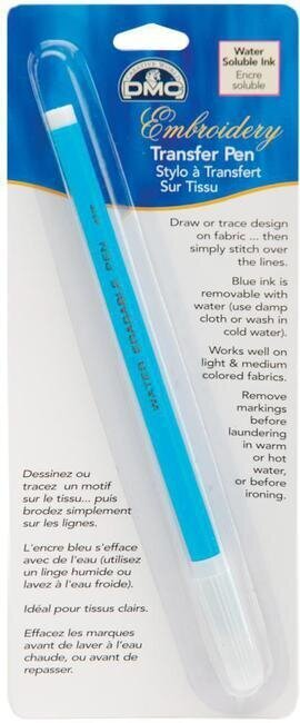 DMC Embroidery Transfer Pen - Blue