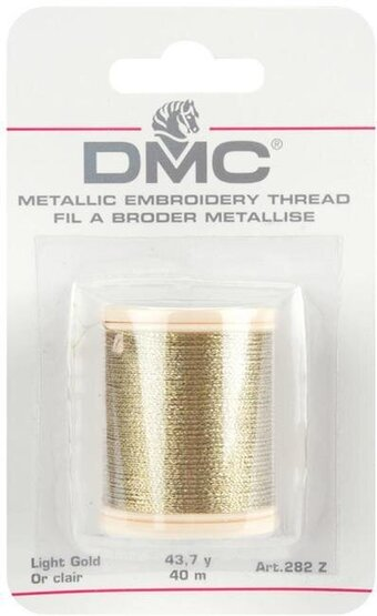 DMC Metallic Light Gold Thread 282Z