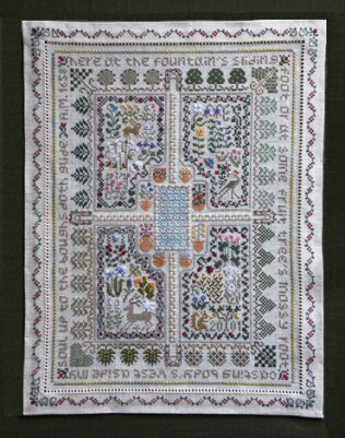 Sanctuary, The - Cross Stitch Pattern