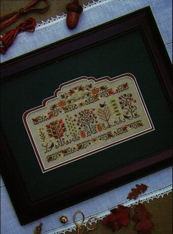 Autumn Arbor - Cross Stitch Pattern