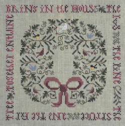 Holly & The Ivy, The - Cross Stitch Pattern
