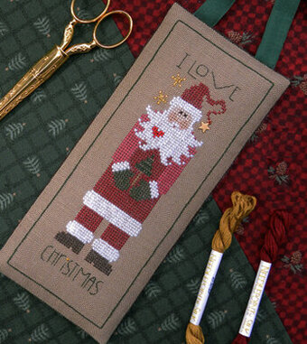 I Love Christmas - Cross Stitch Pattern