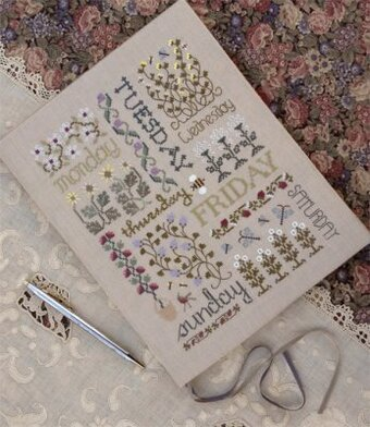 Book Of Days - Cross Stitch Pattern