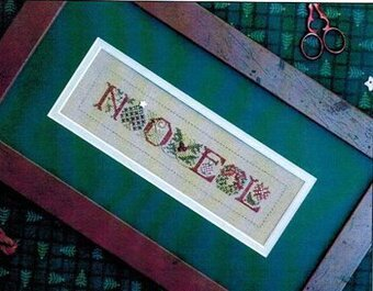 Little Noel - Cross Stitch Pattern