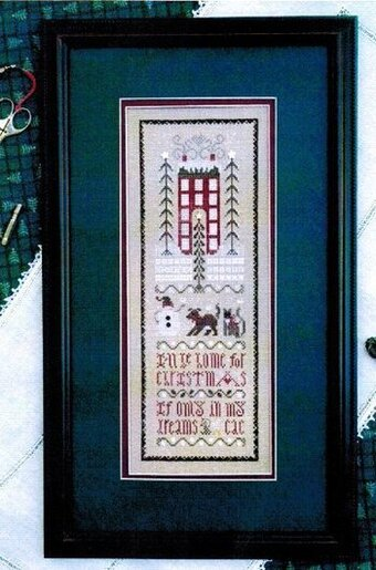 Christmas Dreams Sampler - Cross Stitch Pattern