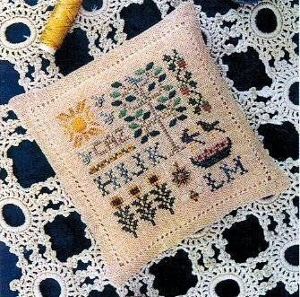 Spot of Summer Cross Stitch Pattern