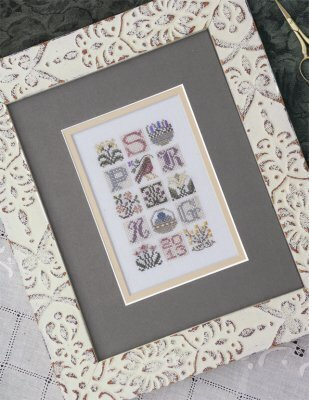 Spring Jumble - Cross Stitch Pattern