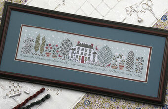 Winter Garden - Cross Stitch Pattern