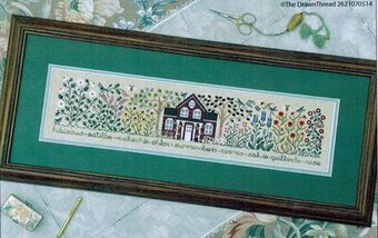 Summer Garden, The - Cross Stitch Pattern