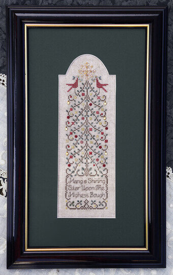Shining Star - Cross Stitch Pattern