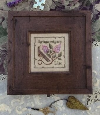 Common Lilac - Cross Stitch Pattern