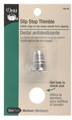 Slip-Stop Thimble by Dritz - Medium