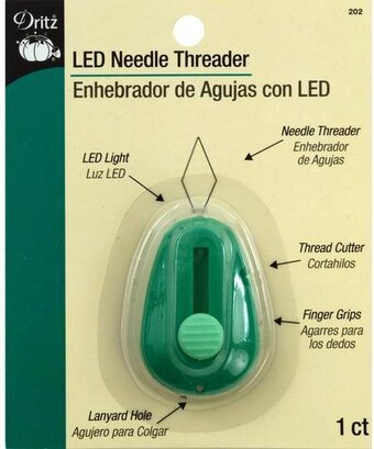 LED Lighted Needle Threader