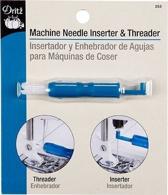 Machine Needle Inserter and Threader