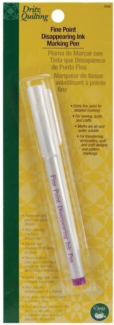 Disappearing Ink Marking Pen Fine Point - Purple