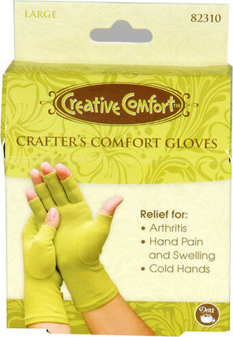 Crafter's Comfort Glove by Creative Comfort - Large