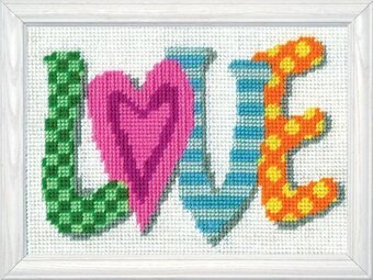 Love - Needlepoint Kit