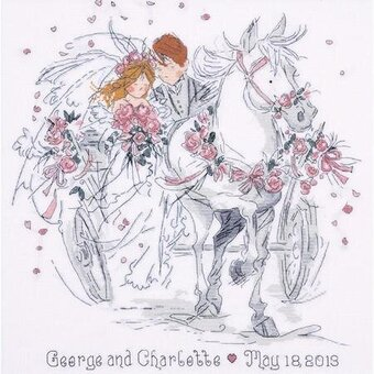 Wedding Carriage - Cross Stitch Kit